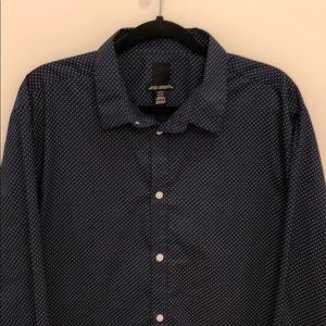 H&M shirt navy blue XXL